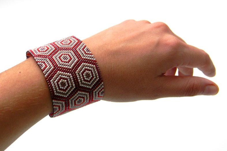 схемы мозаичного плетения бисером.