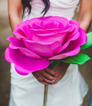 Как своими руками сделать розу фото