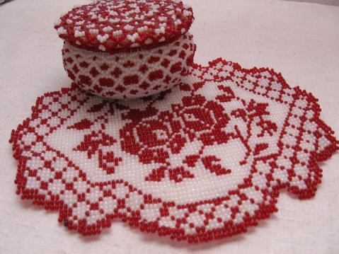 Ручное ткачество бисером