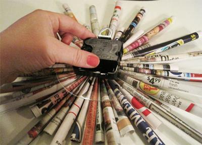 Что сделать из старых журналов своими руками