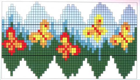 Схема оплетения яйца