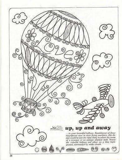 Воздушный шар поделка своими руками