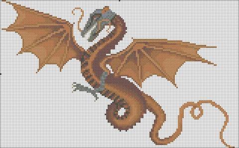 Оранжевый дракон