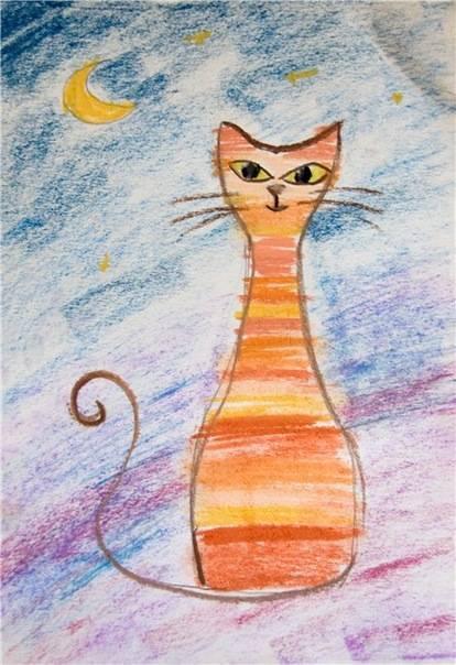 мастер класс.мокрое валяние шерсти. картина с кошкой