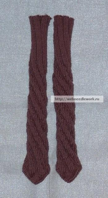 самый простой способ вязания носков вязание носков спиралью