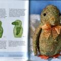 Игрушки из сена - Пингвин