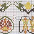 Схема растительные орнаменты
