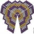 Треугольник из бисера 9