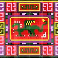 Орнамент с драконом