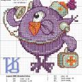 Схема для вышивки Совунья