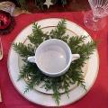 Украшение тарелки