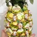 Букет из конфет ананас