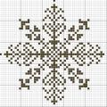 Схема снежинки 11