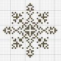 Схема снежинки 19