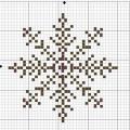 Схема снежинки 10