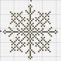 Схема снежинки 2
