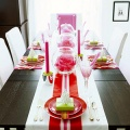 Современный новогодний стол