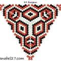 Треугольник из бисера 17