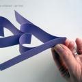 Гирлянда из бумаги - шаг 3
