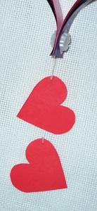 Валентинка из бумаги - шаг 9