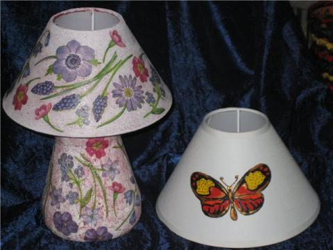 Лампа и плафон