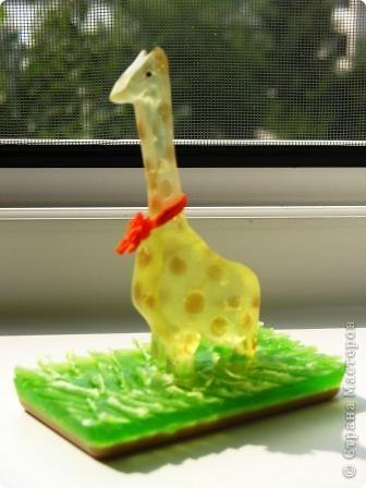 Жираф из мыла