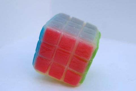 Кубик Рубика из мыла