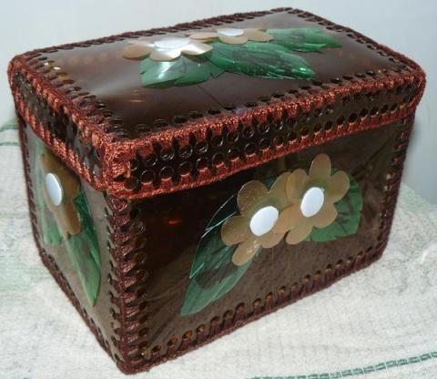 Изготовление шкатулок из подручных материалов