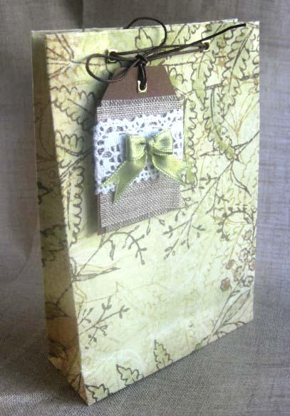Пакет подарочный бумажный своими руками