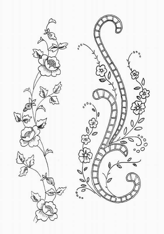 простые рисунки для вышивки